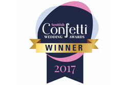 Scottish Confetti Wedding Awards Winner 2017