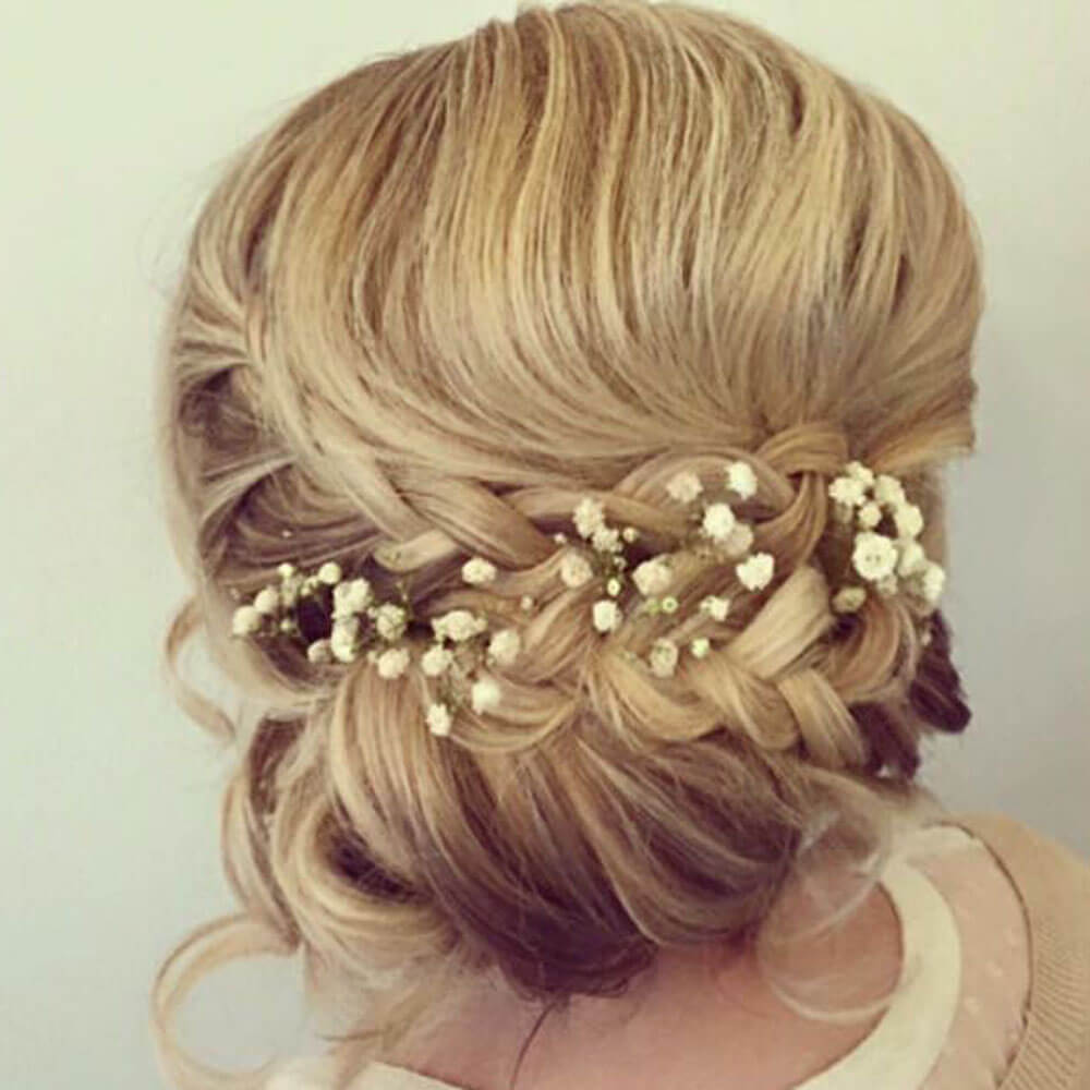 bridal hairstyle from The Aisle