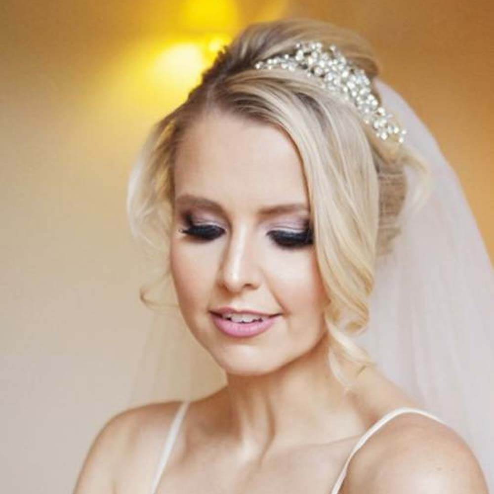 smokey eye makeup bridal