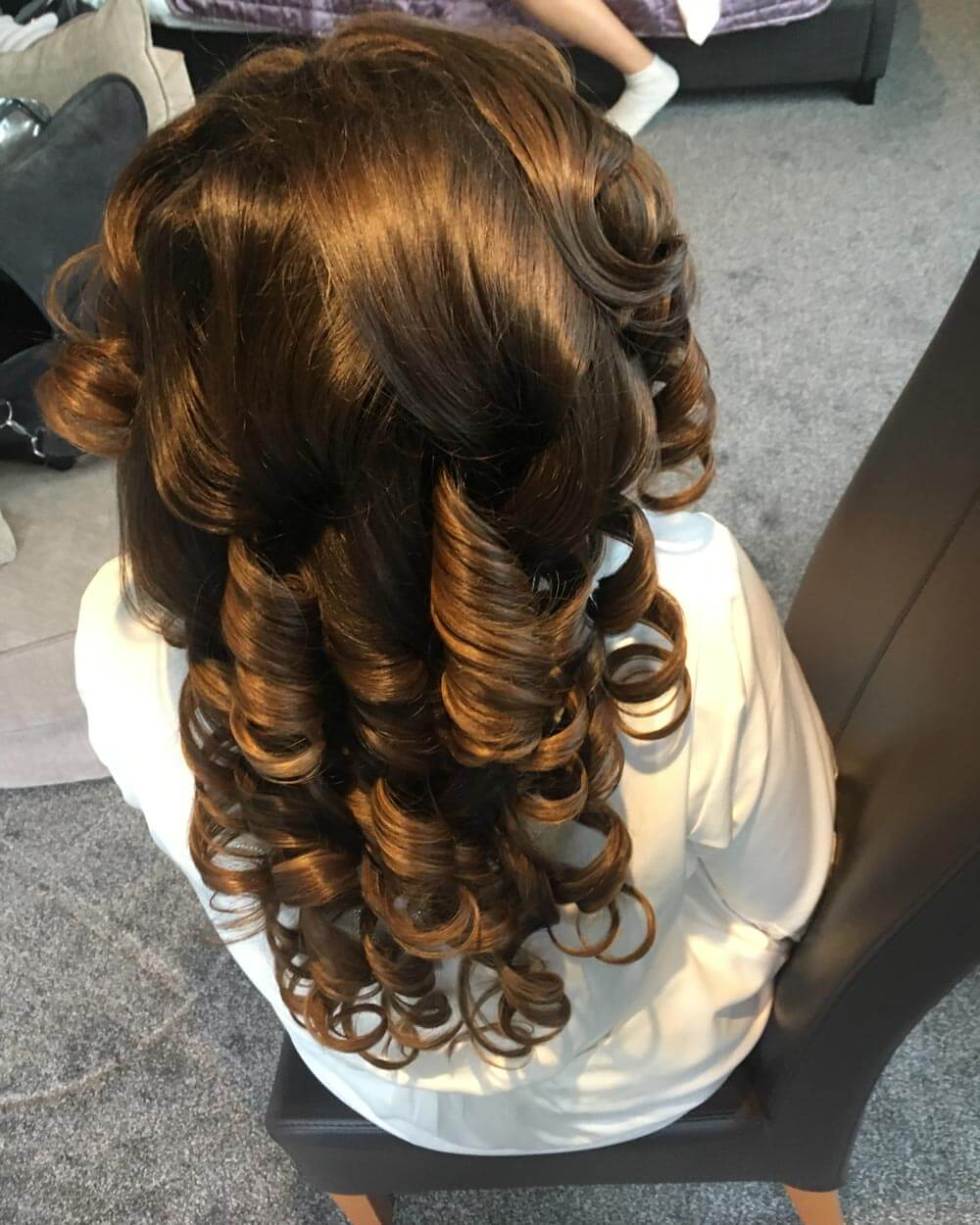Bride's Hair – During
