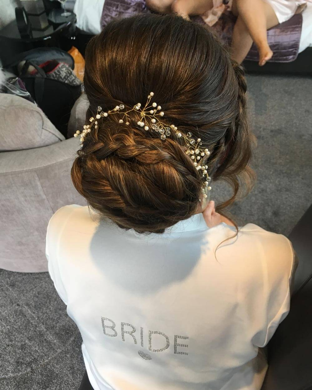 Bride's Hair – After