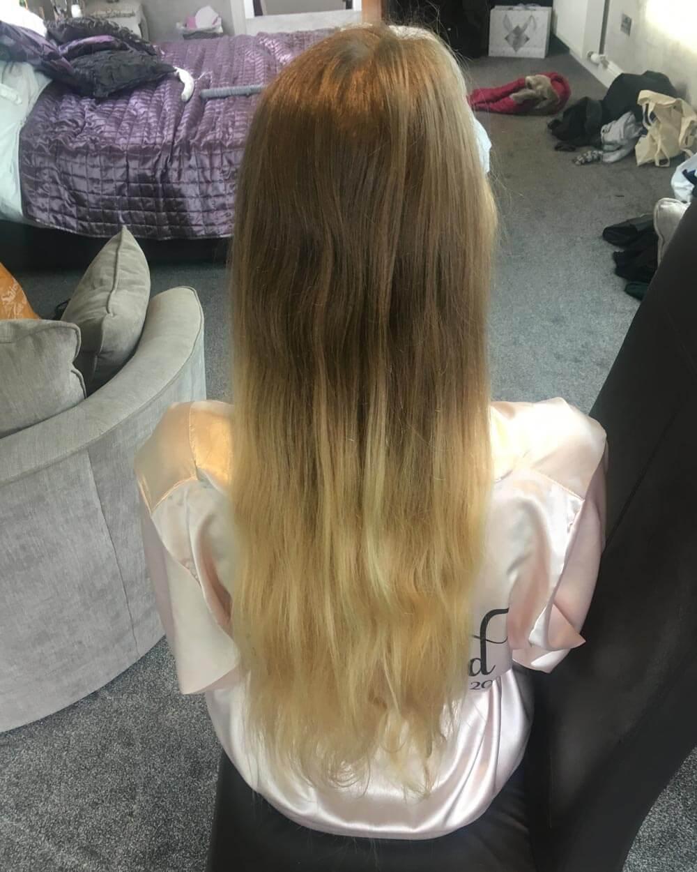 Bridesmaid Hair – Before