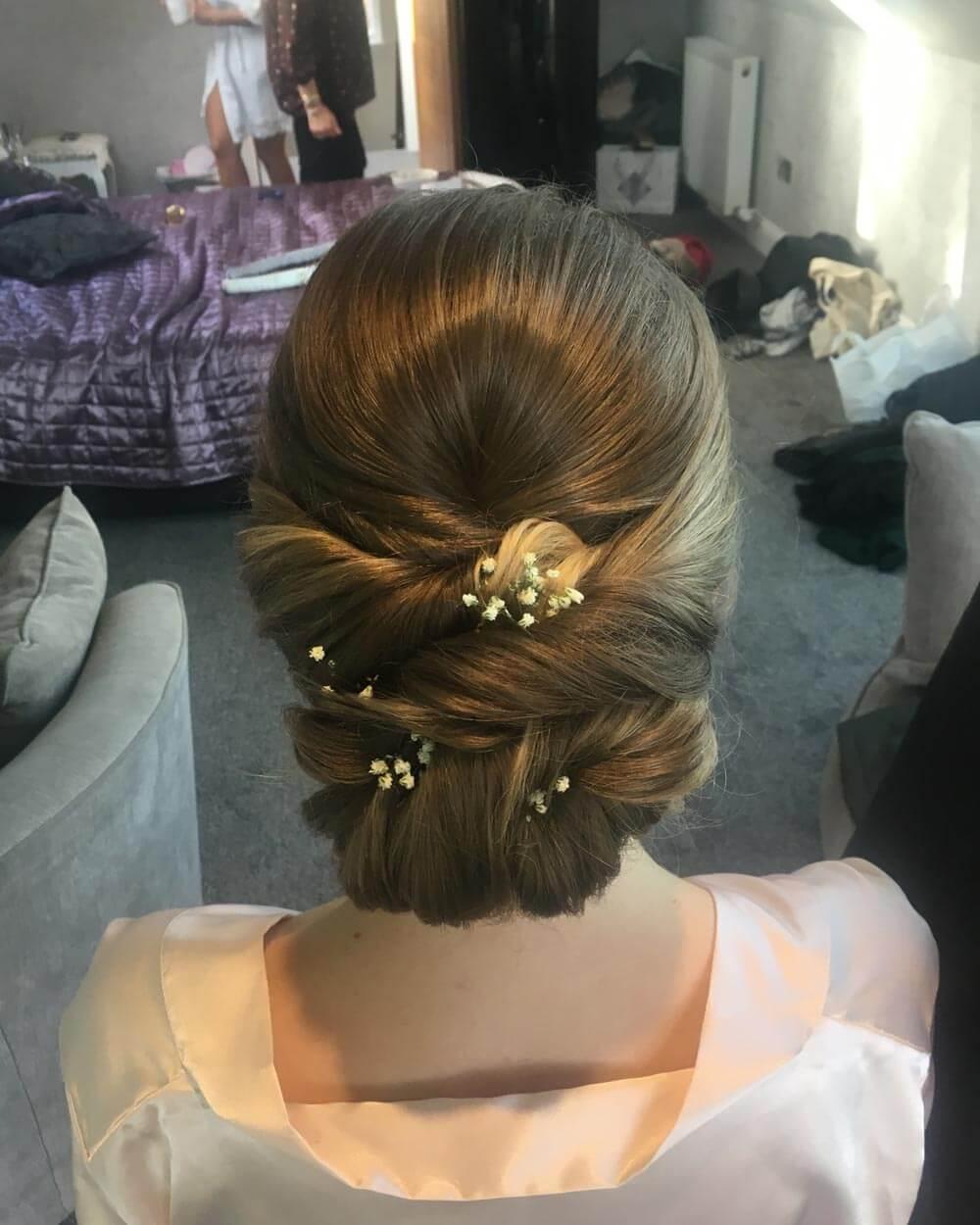Bridesmaid Hair – After