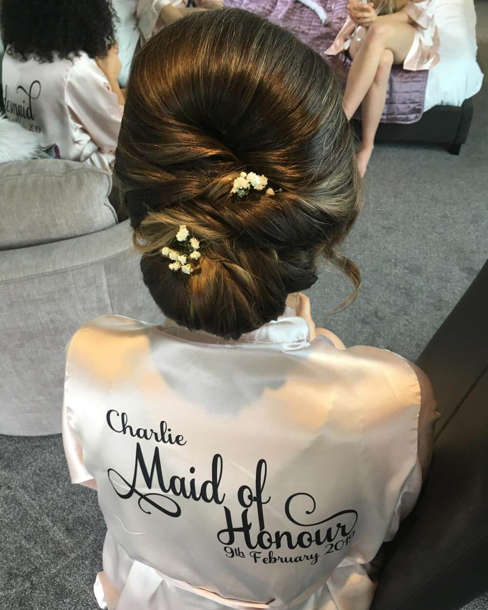 Maid of Honour's Hair – After