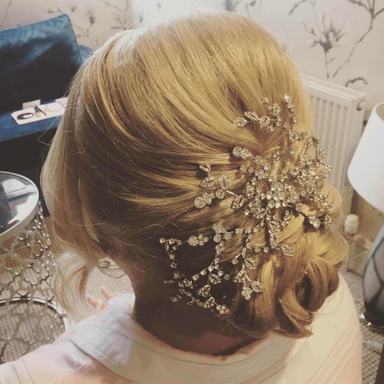 wedding hair Glasgow